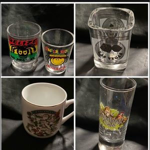 Other - Shot glasses and mugs from Islands & Tourist loc